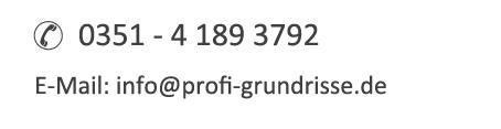 Support und Kontakt profi-grundrisse